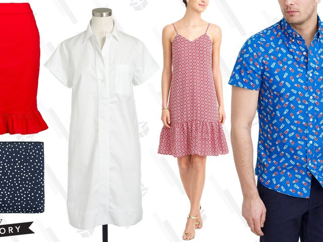 J.Crew Factory is Taking an Extra 50% Off Clearance Items