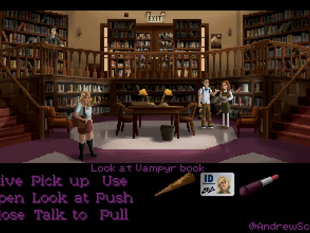 What If LucasArts Had Made A Buffy Point-And-Click Video Game?