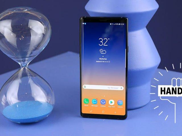 Te zien en klaar voor de Samsung Galaxy Note 9