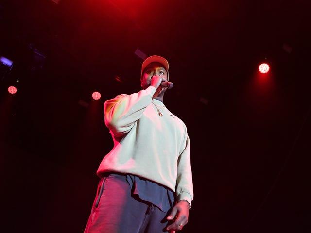 Kanye está apenas sendo Kanye.  É isso, e é tudo