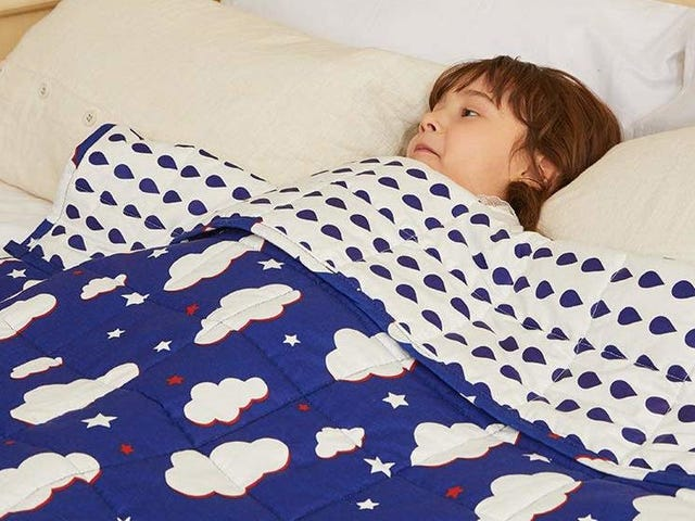 Get Your Kid Their Own Weighted Blanket For 25% Off