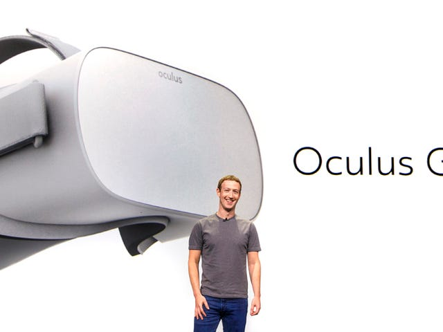Oculus Go, Facebook's Rumored $200 Standalone Headset, Is Finally Here