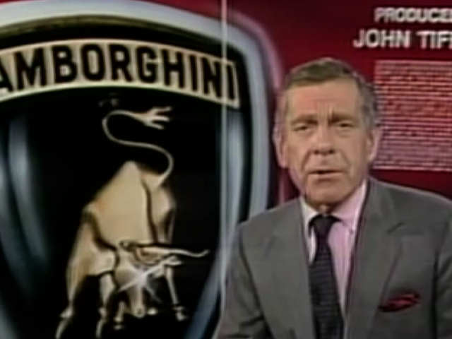 Morley Safer Recorded The Greatest Lamborghini Documentary Ever Shot