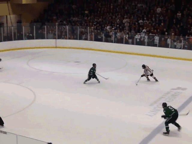 High School Hockey Turnier Spiel endet am plötzlichen Tod Spin-O-Rama