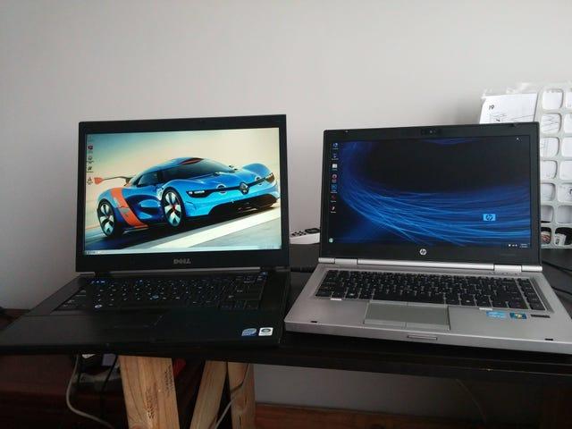 Ho ordinato un laptop di qualche anno online ...