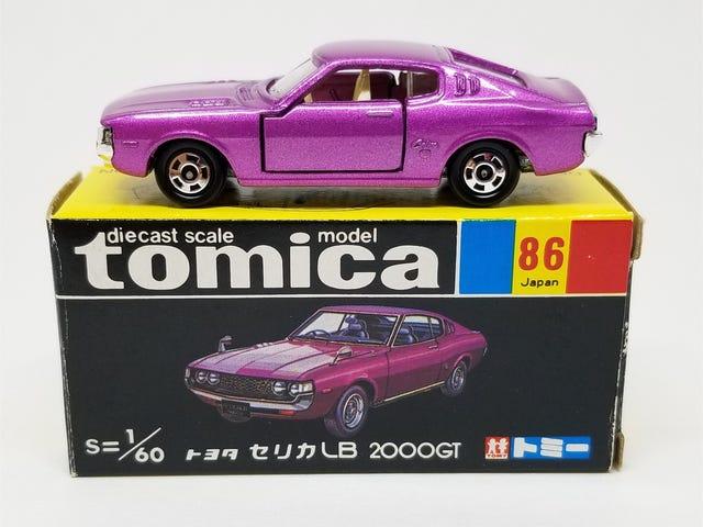 LaLD Car Week: Tomica Toyota Celica LB 2000GT