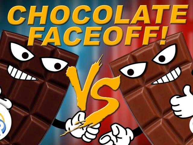Οι βασικές διαφορές μεταξύ του γάλακτος και της σκοτεινής σοκολάτας
