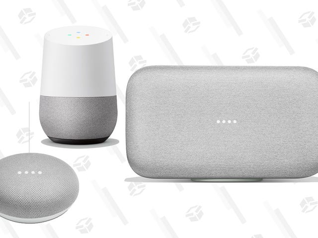 Save Big on Google's Entire Line of Smart Speakers, Right Now