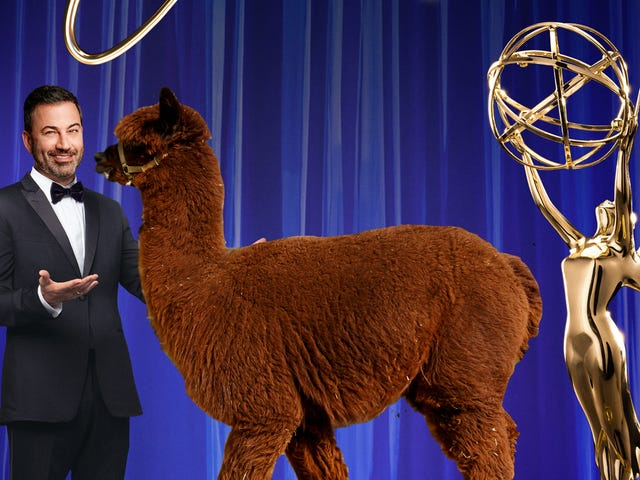 "Emmys producers tease 135 live feeds and an alpaca: It's ""a logistical nightmare"""