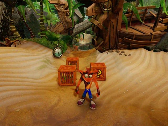 नया <i>Crash Bandicoot</i> त्रयी पुराने गेम को बेहतर बनाता है