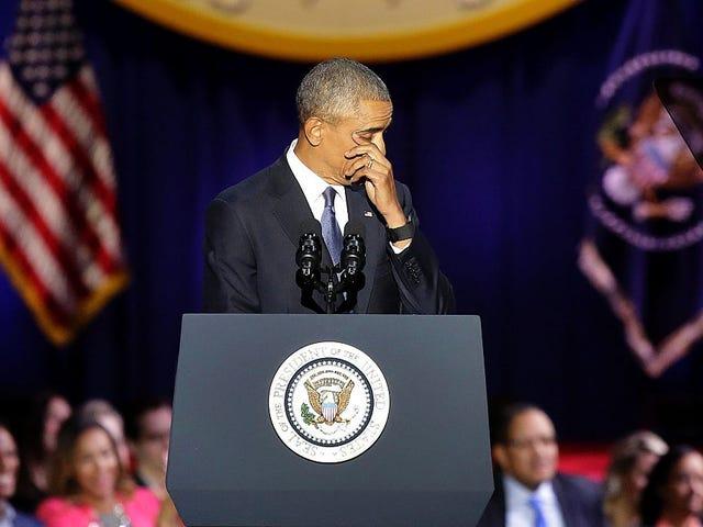 David J. Johns: Thanks for Making Me Feel All the Feels, President Obama
