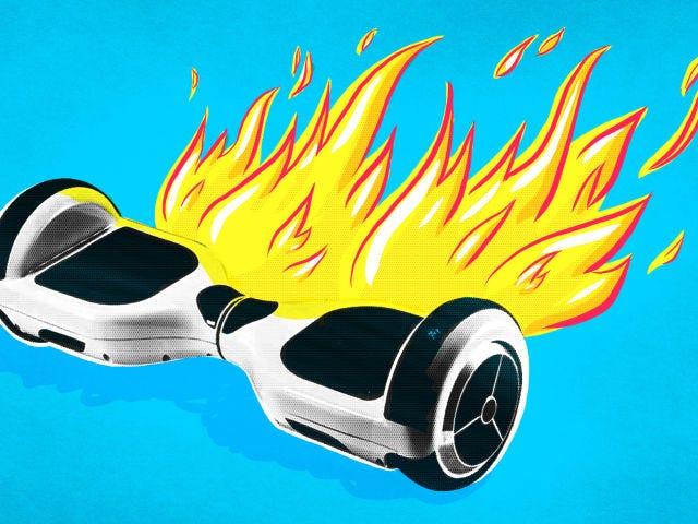 USPS Tidak Akan Kapal Hoverboard Anda Dengan Udara
