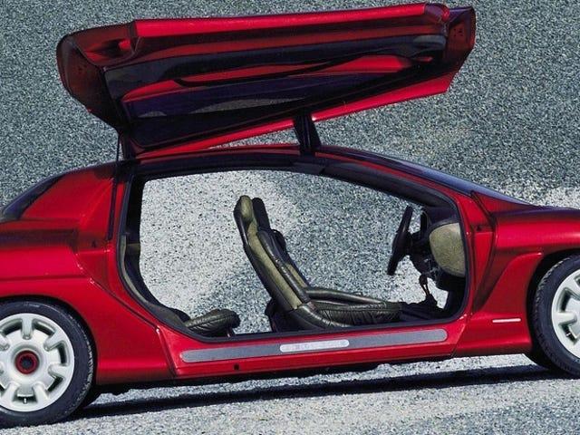 Đây là ý tưởng Karisma năm 1994 của Bertone, xây dựng một chiếc xe mui trần từ nền tảng Porsche 911