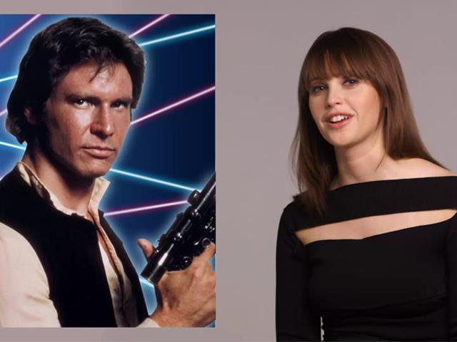 Felicity Jones Memberikan <i>Star Wars</i> Characters Yearbook Superlatif Adalah Kegembiraan yang Kita Perlu Hari Ini