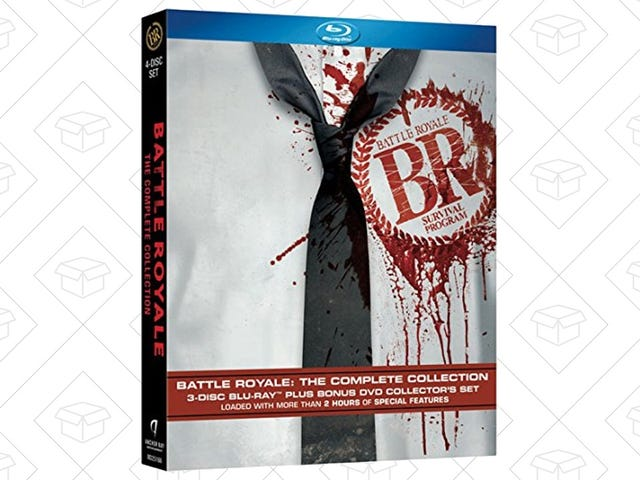 Own the Films That Created the Battle Royale Genre For $16