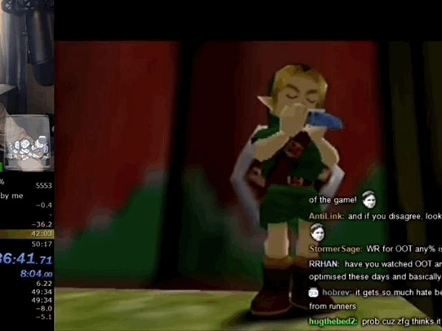 Majora's Mask Speedrunners Get World Record Under An Hour By Playing The Ocarina 63 Times
