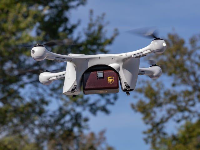 UPS får FAA-godkjenning for å drive America's First Drone Delivery Airline