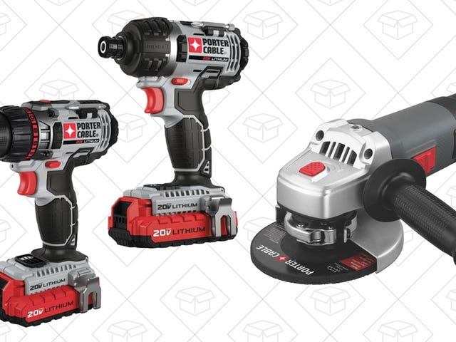 Put Some Power Tools Under the Tree With These Massive Porter-Cable Discounts