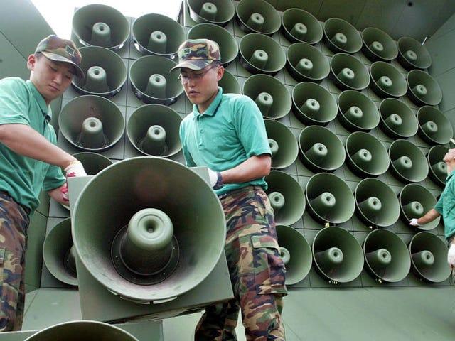 Seúl apaga los altavoces que usaba para bombardear a Corea del Norte con propaganda ymúsica k-pop