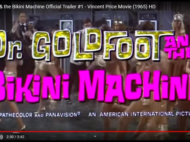 डॉ। गोल्डफुट और बिकनी मशीन (1965)