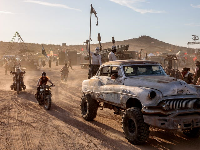 The Strangest Desert Festival In the World Makes Everyone's Mad Max Dreams Come True