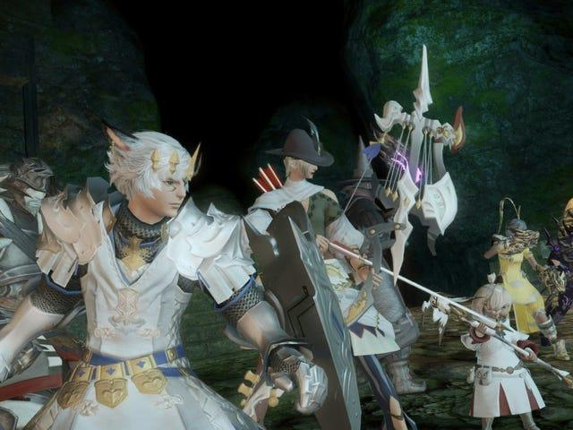 <i>Final Fantasy XIV</i> τουρνουά <i>Final Fantasy XIV</i> του παίκτη αγκαλιάζουν τη διασκέδαση της τυχαίας ευκαιρίας