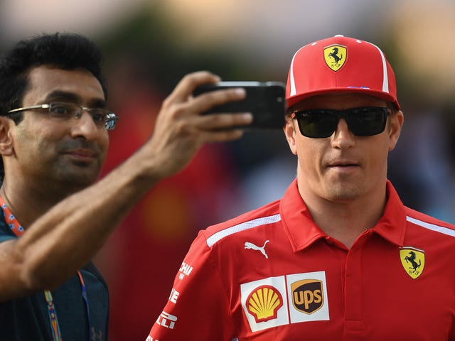 Kimi Raikkonen's Had Enough of Your Prying Questions About Why He's Going to the Sauber F1 Team