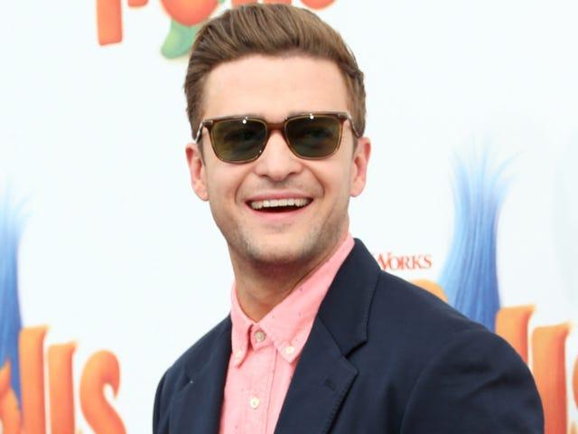 Justin Timberlake quiere golpearte entre tus ojos (y entumecer tu cerebro)
