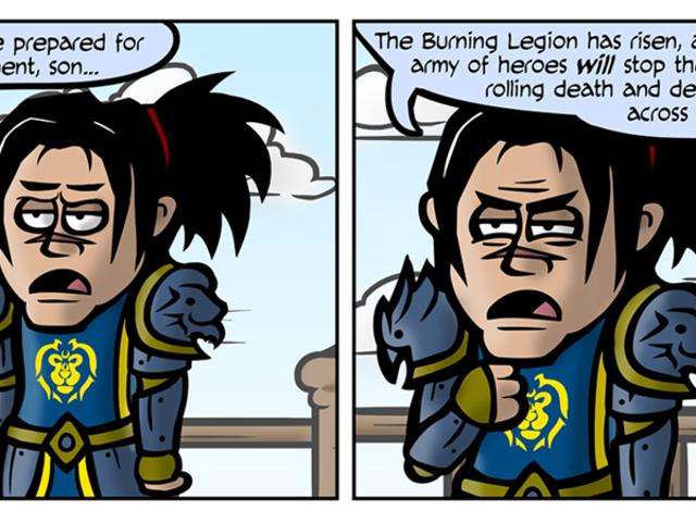 Một người không chỉ đơn giản là chuẩn bị cho <i>World of Warcraft: Legion</i>