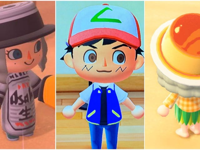 In Japan, Animal Crossing Players Are Making Incredible Custom Outfits
