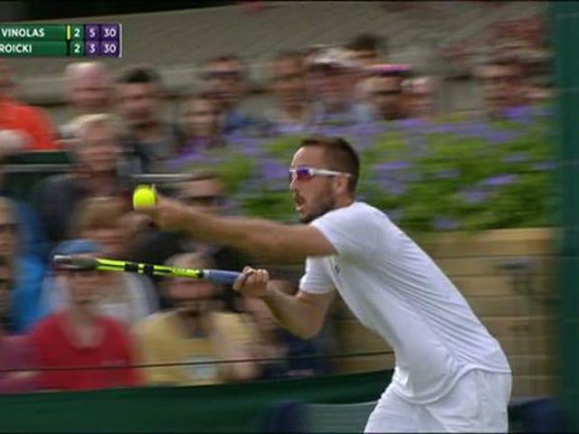 Viktor Troicki smälter ner, kastar galen Hissy Fit vid Wimbledon Umpire