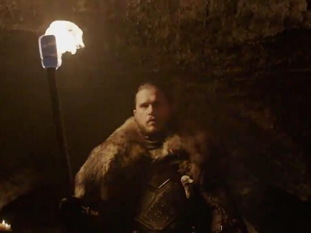 Jon Snow's Manbun Stars in New<i>Game of Thrones</i>Final Season Teaser