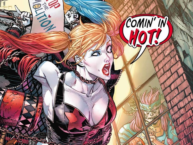 Harley Quinn rushes to save her home in this exclusive preview