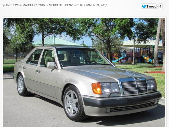 GCFSB: '93 Mercedes Benz 500E