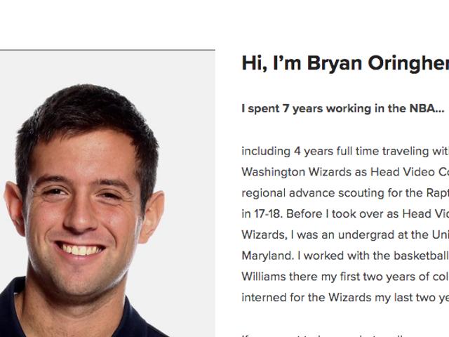 Spokojny, ale sporadycznie kłopotliwy wywiad z byłym harcerzem NBA, który okrył się krytyką na Twitterze
