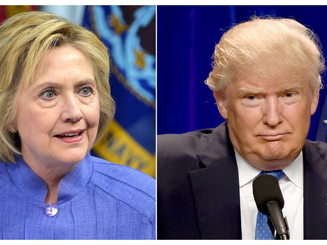 'Tidak, anda seorang Racist Bigot!': Perang Clinton dan Trump yang menghina Trump adalah tidak masuk akal