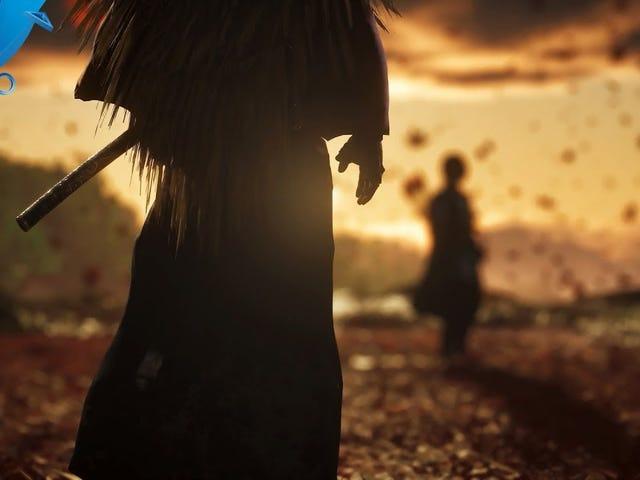 Ghost of Tsushima có vẻ tốt, nhưng tiếng Anh có dấu nặng nề trong đoạn trailer E3 là một chút chói tai