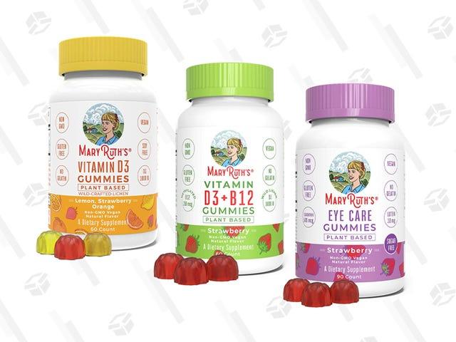 N'oubliez pas vos vitamines avec cette boîte d'or Amazon