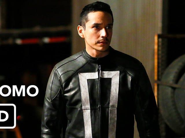 ¡Los nuevos Agents of SHIELD promo ahora con más Ghost Rider!