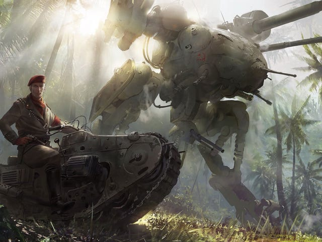 Check Out Some Concept Art For The Upcoming Metal Gear Solid Movie