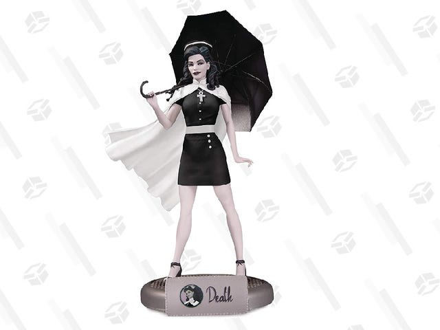 The Price of This DC Bombshell Nurse Death Statue Is to Die For
