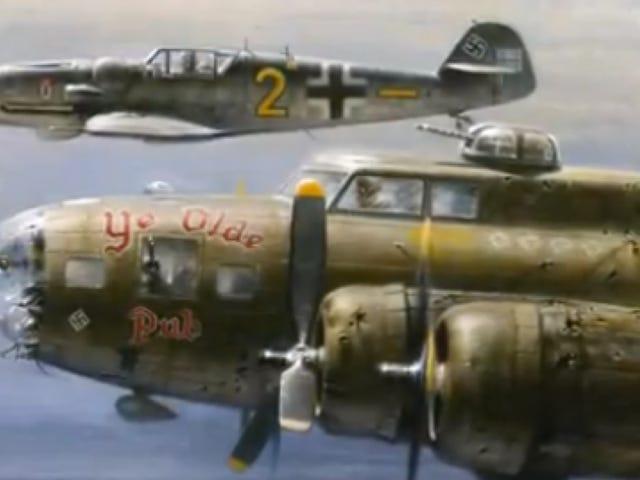 Hvorfor en tysk pilot escorted en amerikansk bombefly til sikkerhed under anden verdenskrig