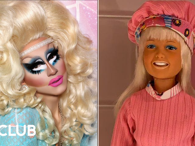 Trixie Mattel says she's the world's premier collector of Dusty, the awkward '70s answer to Barbie