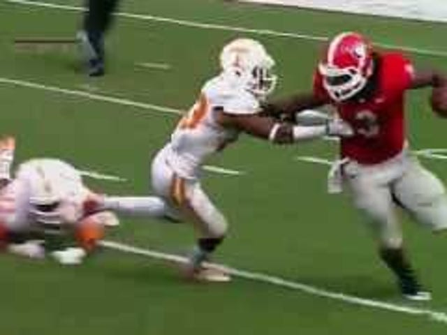 Todd Gurley Styles All Over The Tennessee Defense