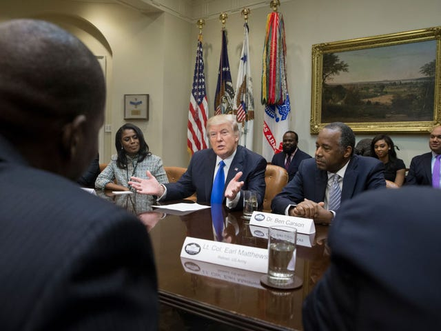 Trump on Black History Month: Where Frederick Douglass At? I See You, Baby!