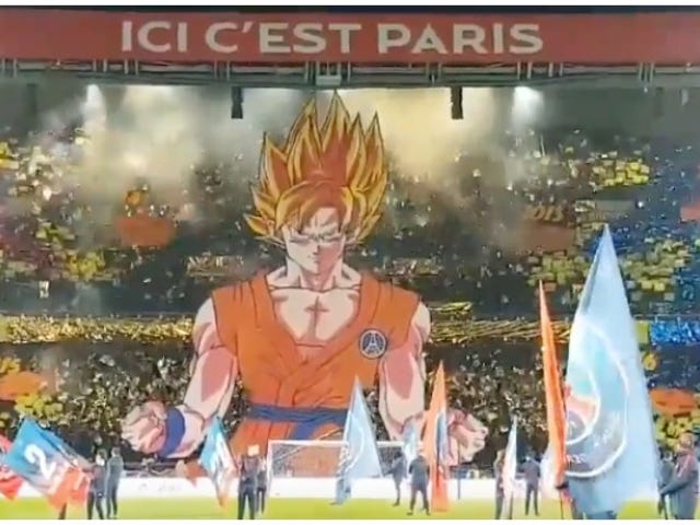 Dragon Ball's Goku Makes An Impressive Paris Saint-Germain Debut