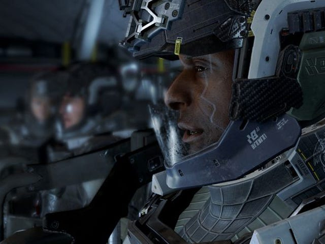 This year's Call Of Duty takes war to the stars