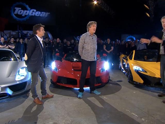 Her er hvordan <i>Top Gear</i> kan teste LaFerrari mod P1 og 918 (UPDATED)