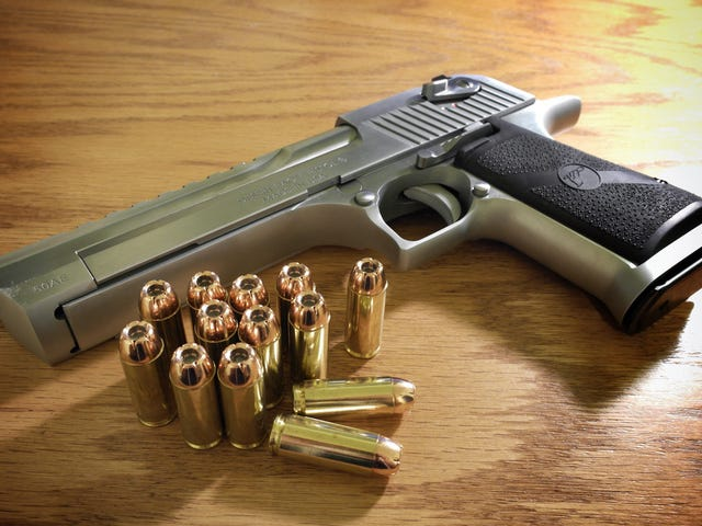 You Never Hear About Smart .50 Desert Eagle Owners
