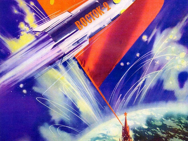 Soviet Space Posters were Cool
